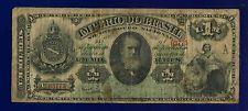 Brazil Um Mil Reis 1885 PA250B  VG D PEDRO II IMPERIAL BANKNOTE SCARCE