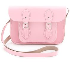 "Cambridge Satchel Pastel 11"" Satchel found on Polyvore"