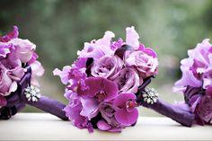 Radiant Orchid Wedding Bouquet:  Aileen Tran Event Stylist  via