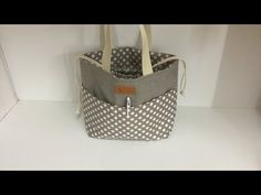 Coudre un petit sac à main style pochon - Couture Madalena - YouTube Sewing Tutorials, Sewing Projects, Diy Hair Accessories, Fabric Bags, Homemade Gifts, My Bags, Tote Bag, Purses, Fabric Tote Bags