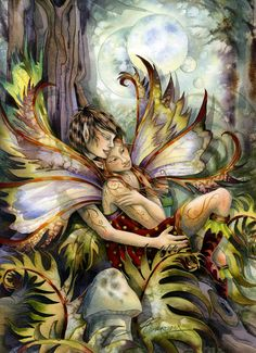 Fantasy Diamond Painting Kits that include Fairies and Dragons and all things fantasy. Fantasy Love, Fantasy World, Fantasy Art, Fantasy Fairies, Fairy Dust, Fairy Land, Fairy Tales, Arte Elemental, Kobold