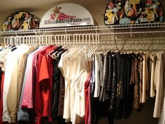 "How to organize your closet like your own personal ""boutique"" http://www.missussmartypants.com/index.php?route=common/home"
