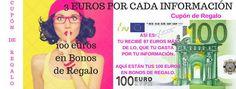 3 Euros por cada Información: Las Informaciones valen dinero. 3 Euros por cada I...