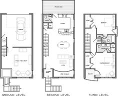Shotgun House Floor Plan   The Revival Of A Traditional Southern    Small Shotgun House Plans   Narrow Lot House Plans and Zero Lot Lines