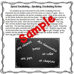 French Games and Activities Songs To Sing, Vocabulary, Singing, Language, Classroom, Student, French, Teaching, Activities