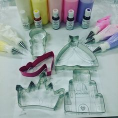 Sketch it out!! How to Decorate Princess Cookies