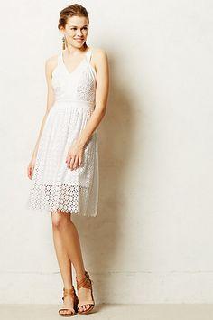 Lila Eyelet Dress - Anthropologie $188