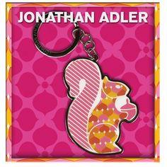 Amazon.com $18.00 Jonathan Adler Squirrel Key chain