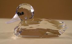 4cdfccb76 SWAROVSKI CRYSTAL MALLARD DUCK V2 012723 MINT BOXED RETIRED RARE