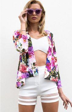 Botanic Jacket | Beginning Boutique  http://beginningboutique.com.au/botanic-jacket