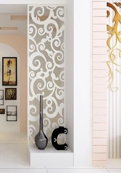 pvc flower-board MDF carved panels carved entrance carved screens bulkhead partition wall hollow partition - Taobao Depot, Taobao Agent - One Wooden Partition Design, Living Room Partition Design, Wooden Partitions, Living Room Divider, Room Partition Designs, Partition Ideas, Partition Walls, Room Partitions, Partition Screen