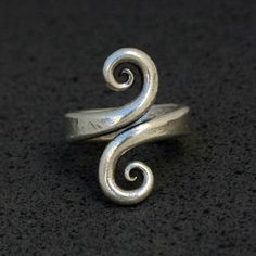 Forged ring.