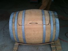 wine barrel ice chest plans | Ice Chest