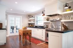 Things That Sparkle: Scott Lyon & Company | Butcher block island for kitchen