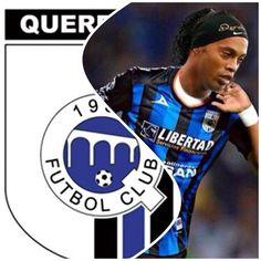 """Centrocampista »Los fans de"""" Gallos """"está encantado con la llegada de Ronaldinho en las redes sociales» Archivo"""