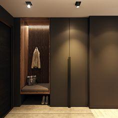 Loft Interior Design, Lobby Interior, Home Room Design, House Design, Wardrobe Door Designs, Wardrobe Design Bedroom, Flur Design, Baths Interior, Indian Home Interior