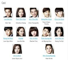 The Heirs cast <3