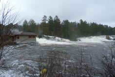 Wilson's Falls in Flood