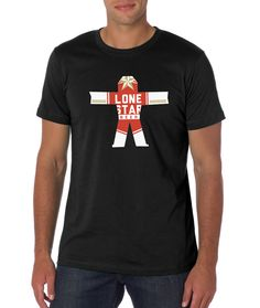 Lone Star T-shirt (Black)