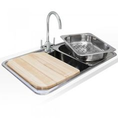 Lamona Single Square Bowl Sink from Howdens | Utility room ...