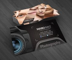 Professional photographer business cards