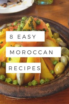 With simple steps and very few ingredients, put dinner on the table for your family quickly with these 8 easy Moroccan recipes.