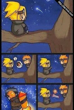 Feux d'artifices. #Tobi #Naruto