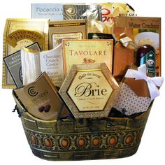 Heres a hard to find gift for the diabetic or for the dieter the art of appreciation gift baskets standing ovation gourmet food basket christmas gifts negle Images