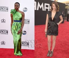 The Walking Dead's Danai Gurira & Lauren Cohan Prove They Clean Up Nicely At The American Music Awards!