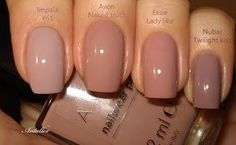 Notes on the nails: Avon Naked Truth, . - Notes on the nails: Avon Naked Truth, { You are in the right - Nail Colors For Pale Skin, Neutral Nails, Nude Nails, Acrylic Nails, Black Nails, Natural Color Nails, Pale Pink Nails, Shellac Nails, Glitter Nails