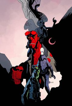 Hellboy Day at CNJ Comics this Saturday, March 22nd - Carol and ...