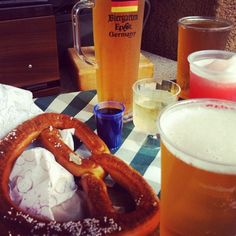 I'm gonna get a beer and pretzel in Germany. I don't even like beer. But BEER AND PRETZELS WOOO 21!