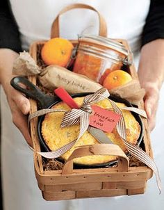 Many, many Gift Basket ideas!
