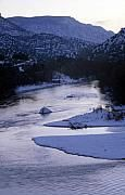 Cold and Blue, Winter in NM, by Lynard Stroud