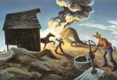 It's About Time: 1930s America's Great Depression - Thomas Hart Benton 1920s-1970s Regionalist Painter