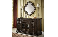 4200151 in by Legacy Classic Furniture in St Catharines, ON - La Bella Vita Credenza with Marble Inlay