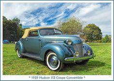 1939 Hudson 112 Coupe Convertible
