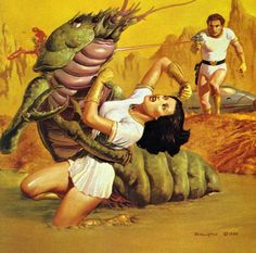 Never understood why alien bugs wanted our women so much. I mean, the biology itself is mind-boggling.