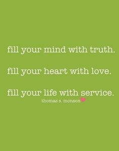 fill your mind, heart, and life