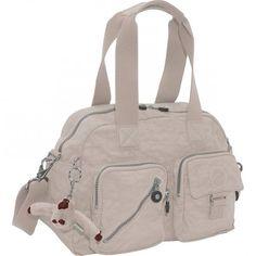 Kipling Defea Handbag Warm Grey $74.99
