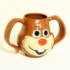 Nesquik Rabbit Cup - Oh my gerbils!! I had one of these when I was little! It was awesome. Knowing my Mom she still has one. Maybe J would like to drink her chocolate milk out of it.
