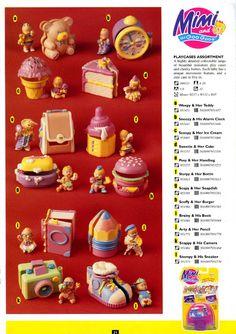 Mimi & the Goo Goos - Bluebird Catalog Vintage Toys 80s, Retro Toys, Vintage Fisher Price, 90s Childhood, Childhood Memories, 90s Toys, Polly Pocket, Toy Craft, Ol Days