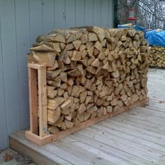 You want to build a outdoor firewood rack? Here is a some firewood storage and creative firewood rack ideas for outdoors. Firewood Rack Plans, Outdoor Firewood Rack, Firewood Holder, Firewood Storage, Stacking Firewood, Buy Firewood, Wood Holder Ideas, Wood Storage Rack, Lumber Storage