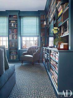81 Cozy Home Library Interior Ideas   Futurist Architecture