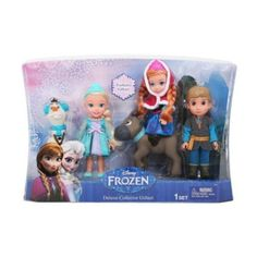 NIB Disney Frozen 6-inch Toddler Gift Set - 5 Piece Set #Disney