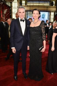 Red Carpet Moments at The Oscars 2013 - Daniel Day-Lewis and Rebecca Miller / Photo by George Pimentel