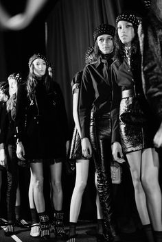 The cool girl gang at Marc by Marc Jacobs Fall '15