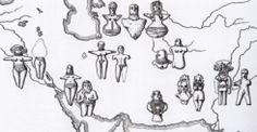 Distribution of votive types, Iran