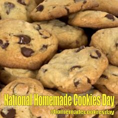 National Homemade Cookies Day - October 1, 2017