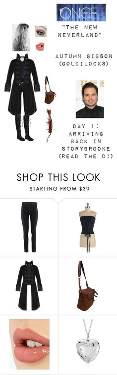 """OUAT - S3E10: ""The New Neverland"" - Autumn Gibson (Goldilocks) (Read the d!)"" by nerdbucket ❤ liked on Polyvore featuring H&M, Jas M.B., Charlotte Tilbury, Blue Nile, Sebastian Professional and FutureFam"